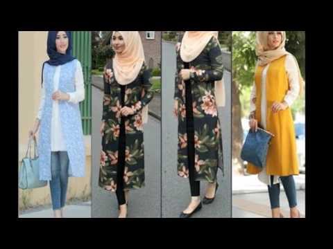 062f5e3f8  ملابس كاجوال تركية للمحجبات موضة - موضة محجبات - 2017 - YouTube