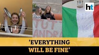 Watch: Amid coronavirus lockdown, Italians sing from windows and balconies