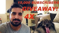 Bitcoin Giveaway for 15K Followers 1.5 Million Views