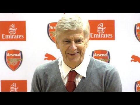 Arsenal 5-0 Huddersfield - Arsene Wenger Post Match Press Conference - Premier League #ARSHUD