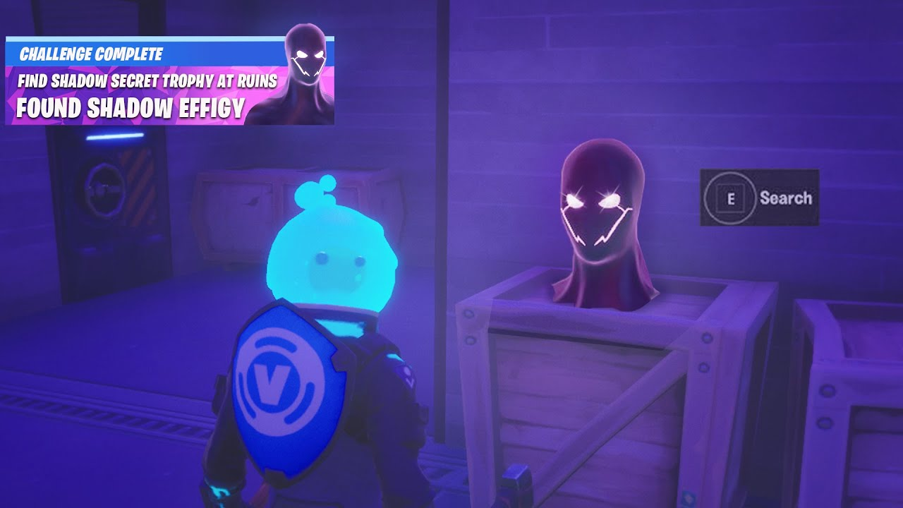 Fortnite Boss Midas Secret Shadow Reward