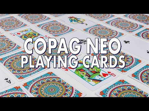 Deck Review - Copag NEO Playing Cards - Set Of 3 Cardistry