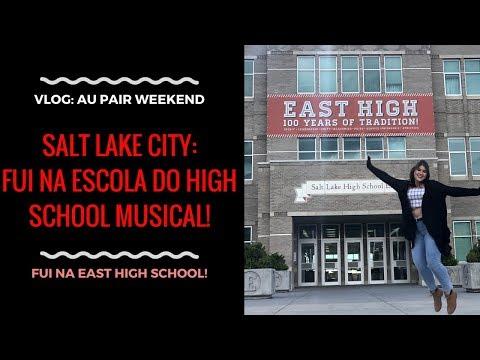 Salt Lake City: HIGH SCHOOL MUSICAL E AU PAIR WEEKEND | VLOG | Vic Marini ❤️