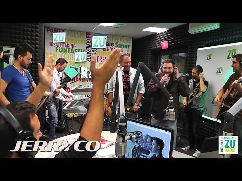 JerryCo feat. Proconsul - Asa Trec Anii | Live @ Radio ZU