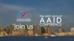 The dental implant world is going to San Diego with the AAID