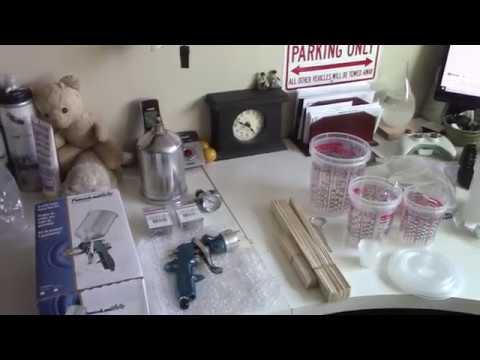 Triumph Spitfire Restoration – Spray Gun and Stuff