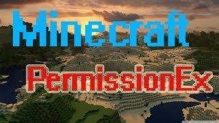 Minecraft pluginbemutató: PermissionEx [HUN][HD]
