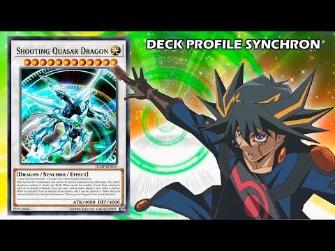 Deck Profile Synchron - Deck Yusei Fudo/Set 2019
