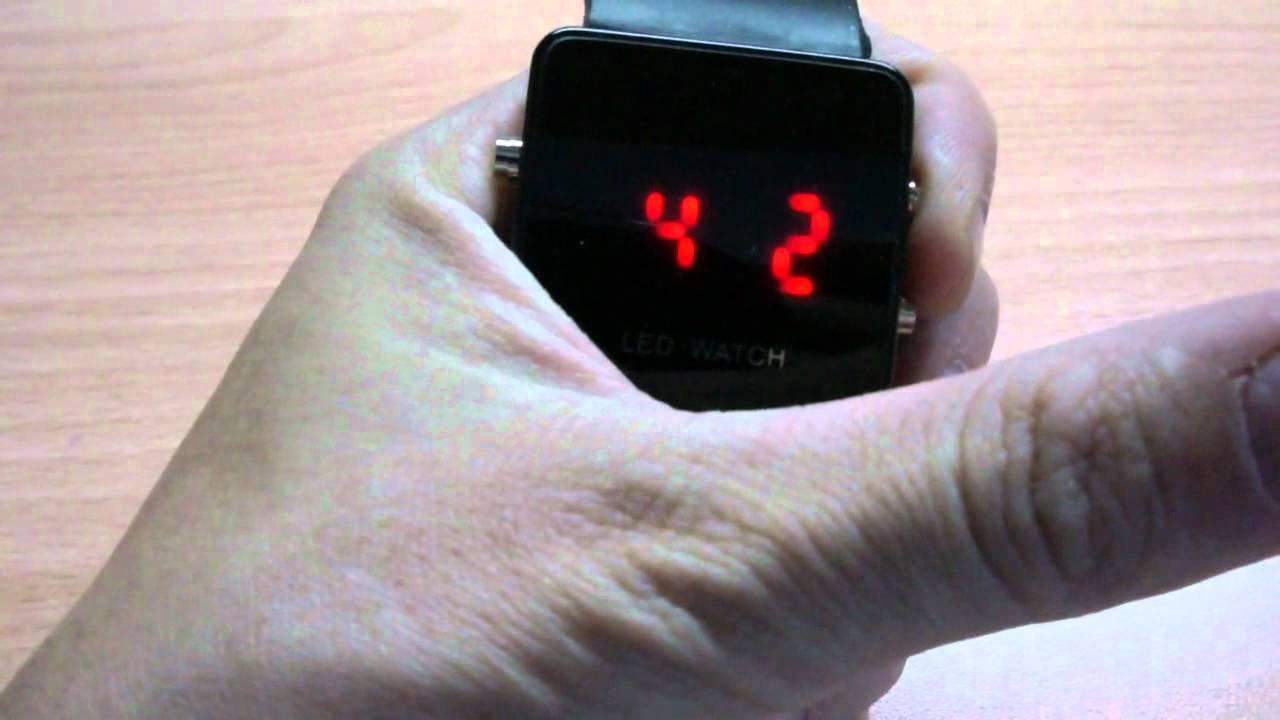 инструкция к электронным часам q q