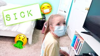 BRYLEIGH IS STRESSED OUT | KAYLA HAS THE FLU? | Family 5 Vlogs