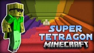 SUPER HEXAGON IN MINECRAFT - Super Tetragon (Minigame) [Deutsch/HD]