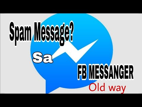 Paano Natin Makikita Ang Spam Message Sa FB Messanger? | FACEBOOK MESSANGER