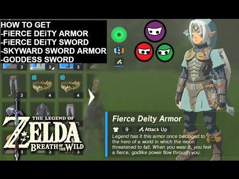 Zelda Breath of the Wild | How to get the Fierce Deity Armor