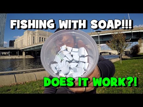 FISHING W/ SOAP!!! DOES IT WORK?! (Give-Away Included) (Philadelphia, PA)