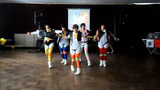 white mocka y mblaq dance cover