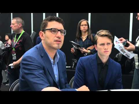 www.scifivision.com - Mr. Robot Press Room - Sam Esmail & Martin Wallström - NYCC 2015