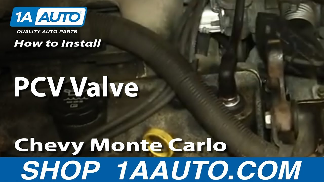 How To Install Replace Pcv Valve 34l 2000 07 Chevy Monte Carlo 2003 Venture Heater Hose Diagram