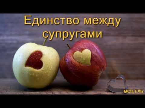 """""""Единство между супругами"""". Н. С. Антонюк. МСЦ ЕХБ."""