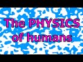 Understanding human behavior using physics