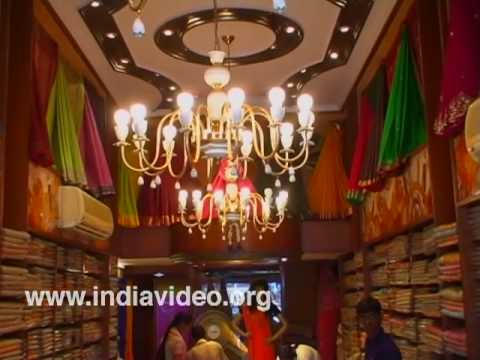 Shopping Sarees at Mysore