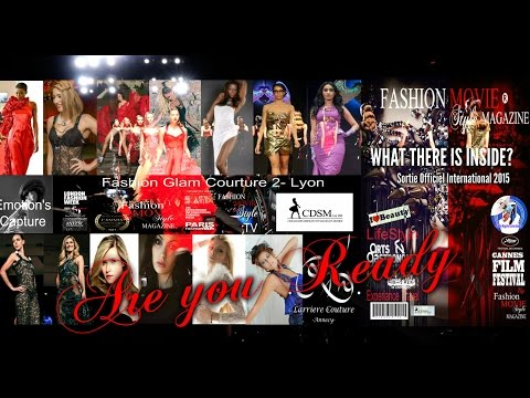 fashion glam Couture LYON -FRANCE 2015