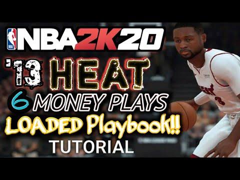 NBA 2K20 Money Plays- 2013 Miami Heat Playbook Breakdown (Must Have!)