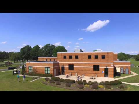 Drone flies over Southside Virginia Community College (SVCC)