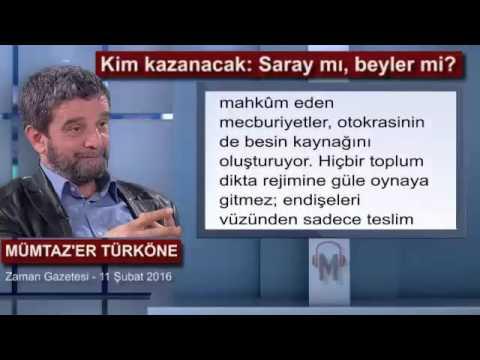 Kim Kazanacak: Saray Mı, Beyler Mi? - Mümtaz'er Türköne