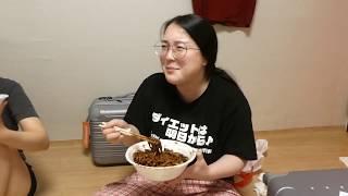 【感動】プデュの最終回を見ながらジャージャー麺を食べる【produce X 101】