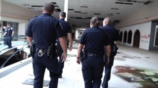 Urban Exploration : Rolling Acres Mall : BUSTED BY AKRON POLICE!!