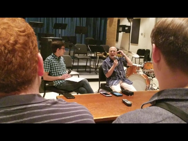 Gary Smulyan Clinic at UNT part 2 Interview