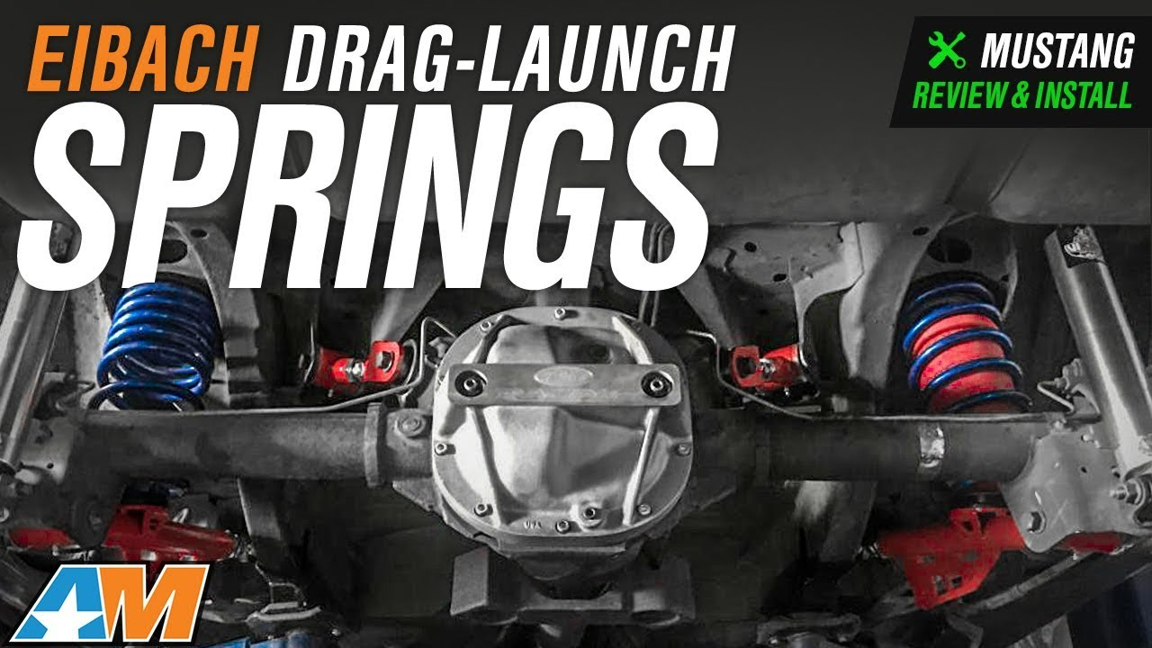 1979-2004 Mustang V8 Coupe Excluding Cobra Eibach Drag-Launch Springs  Review & Install