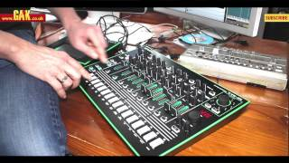 Roland - AIRA TR-8 and TB-3 - Paul Hartnoll of Orbital gives his initial impressions.