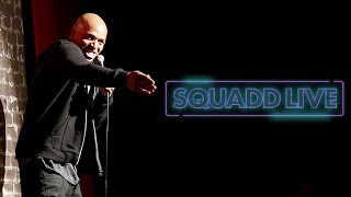 Tony Baker - I Hate Flying Out Of LAX | SquADD Live Stand-Up