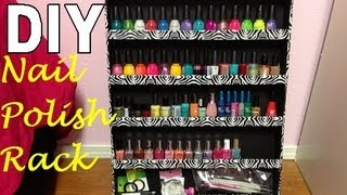 DIY Nail Polish Holder