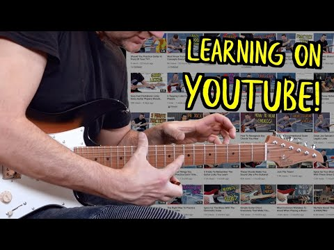 How To Learn Guitar From Watching Youtube Videos?