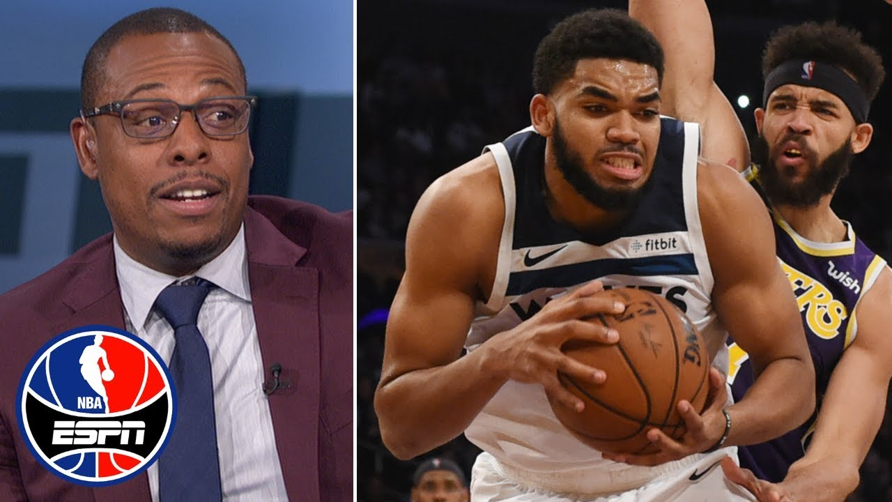 Karl Anthony Towns Needs To Be More Assertive Paul Pierce Nba Countdown Youtube