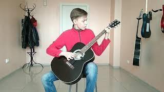 Катюша на гитаре.