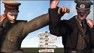 HITLER vs STALIN - 1 vs 1 DUEL - Men of War Assault Squad 2 - Editor Scenario #86