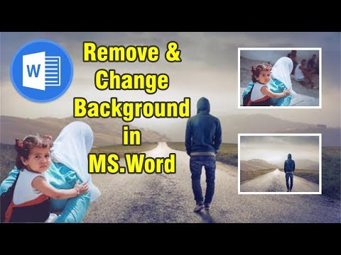 how to change or remove background in ms word 2016 in urdu