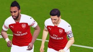 Arsenal vs Manchester City - Premier League 2018 Gameplay