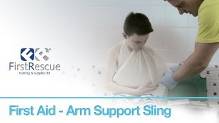 First Aid - Arm Support Sling