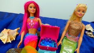 Видео для девочек: Барби и Русалочка. Куклы на ютуб