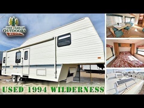 USED 1994 WILDERNESS FIFTH WHEELS (U856) - YouTube