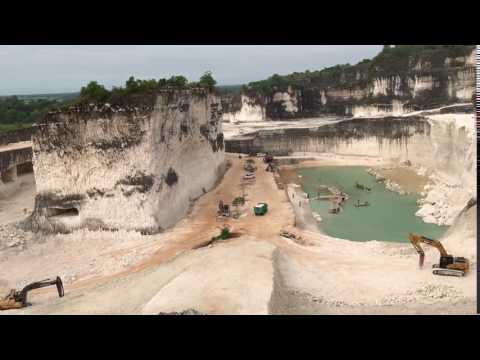 mining site turns to tourist attraction in Madura Island