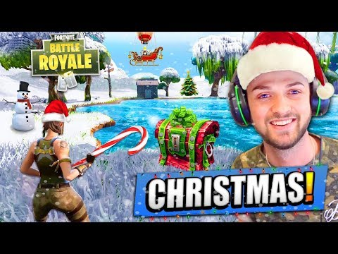 CHRISTMAS UPDATE For Fortnite: Battle Royale!