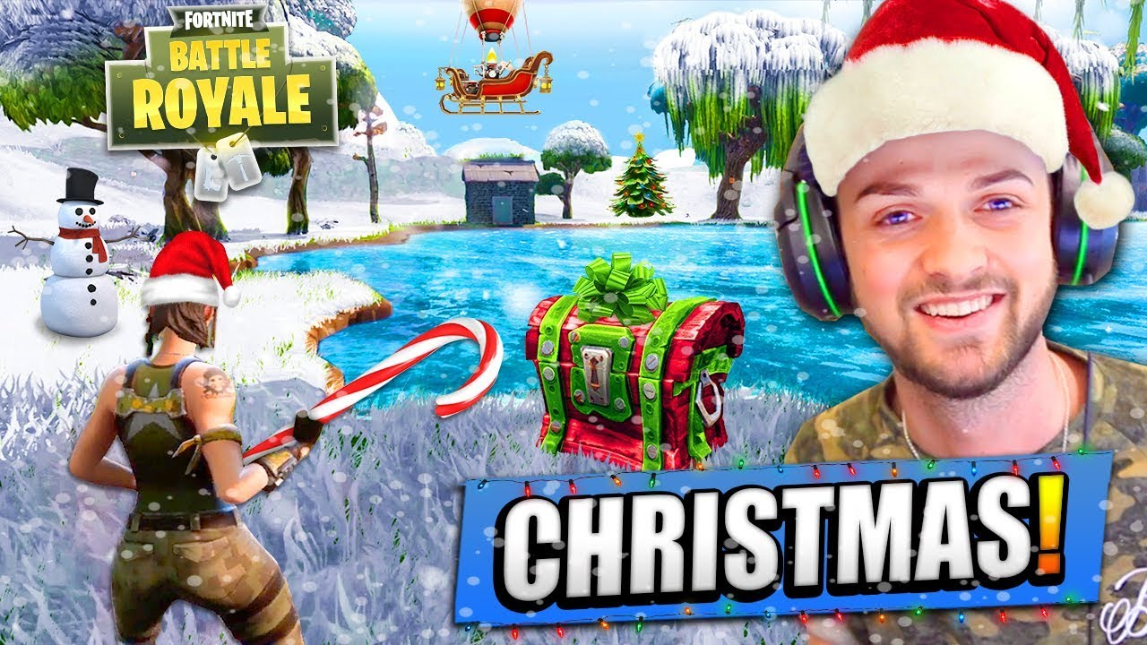 Christmas Update For Fortnite Battle Royale Youtube