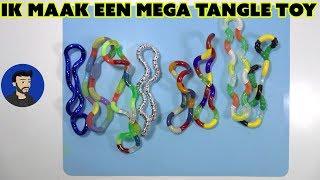 Al mijn tangle toys. Ik maak een super grote Tangle Toy!