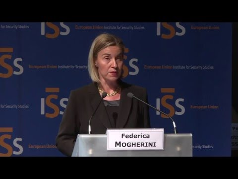 Participation of Federica Mogherini in the annual conference on European Union Global Strategy