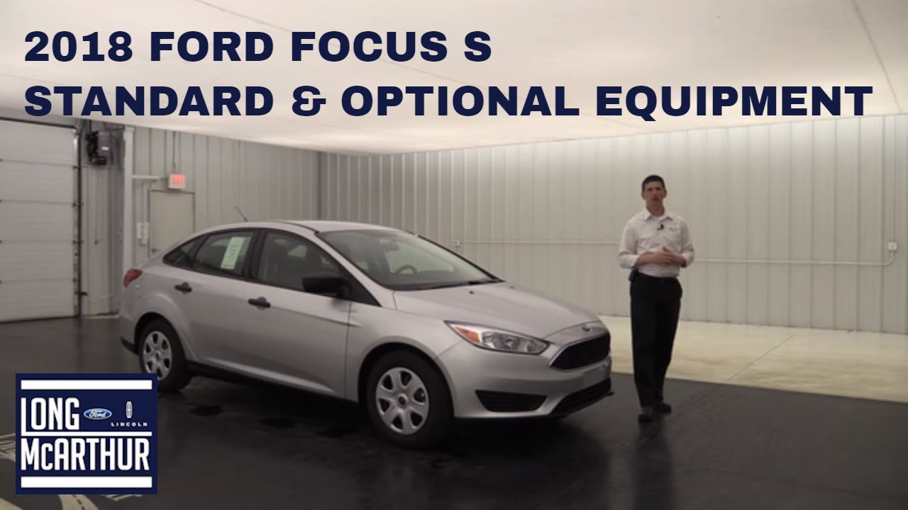 ford focus 2018 instruction manual